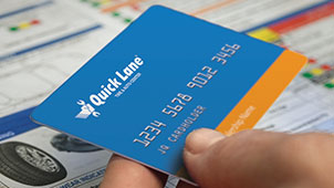 Quick Lane Credit Card