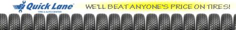 The Gresham Quick Lane offers Tire Specials